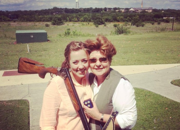 Mothers Day at Gun Club