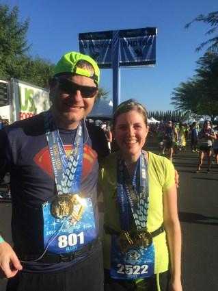 Finishing the Disneyland Half Marathon