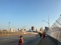 Heading towards downtown Atlanta.