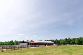 Barn with carriage in Jasper, Alabama