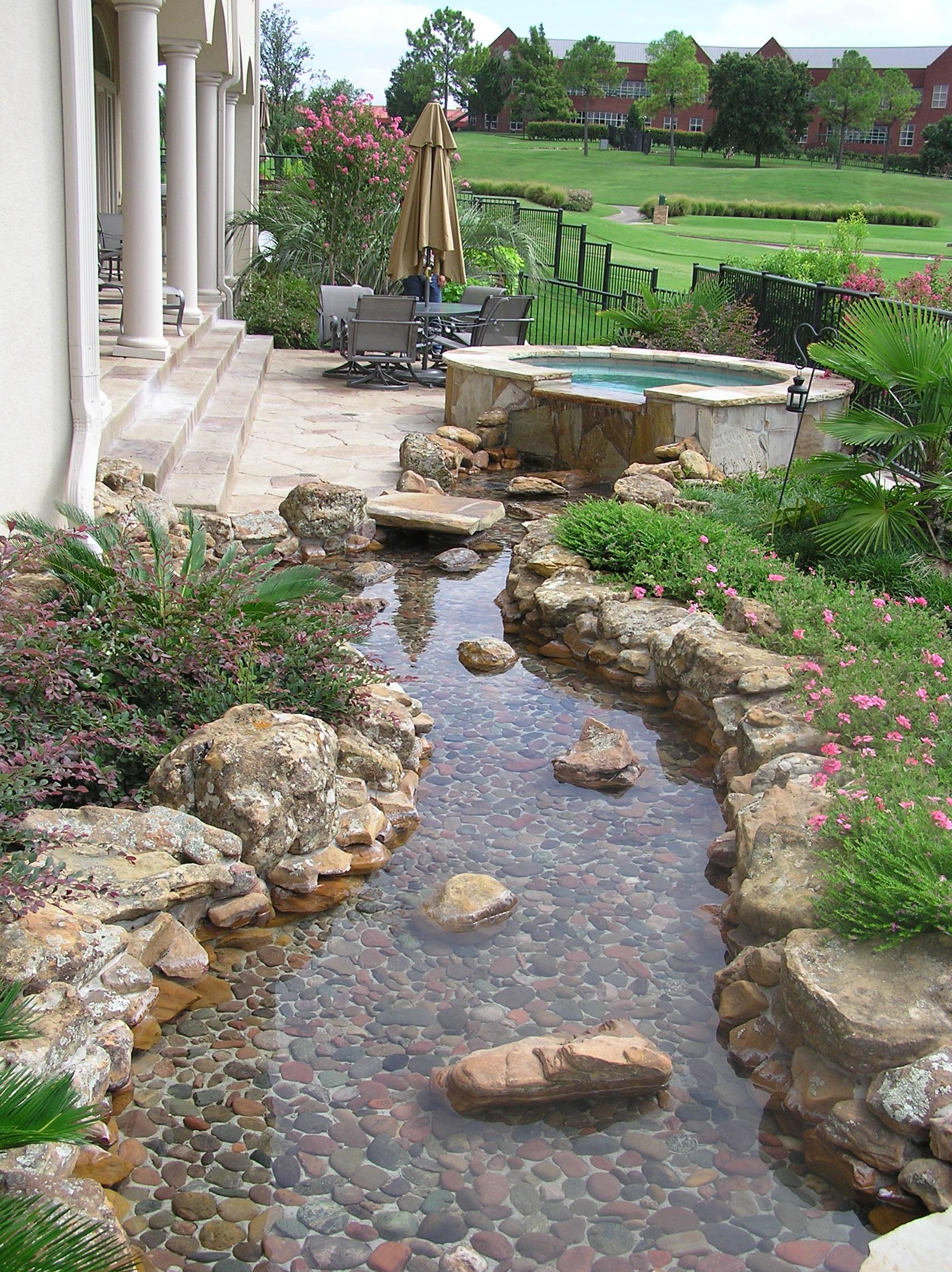 Landscape River Design & Landscape River Construction by ... on Backyard Stream Ideas id=83500