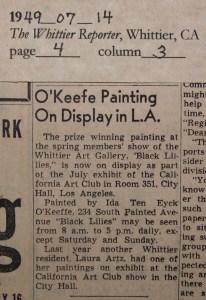 1949_07_14 O'Keeffe CA Art Club copy 2