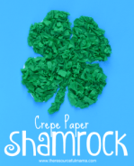 crepe-paper-shamrock-for-st.-Paricks-Day2-242x300