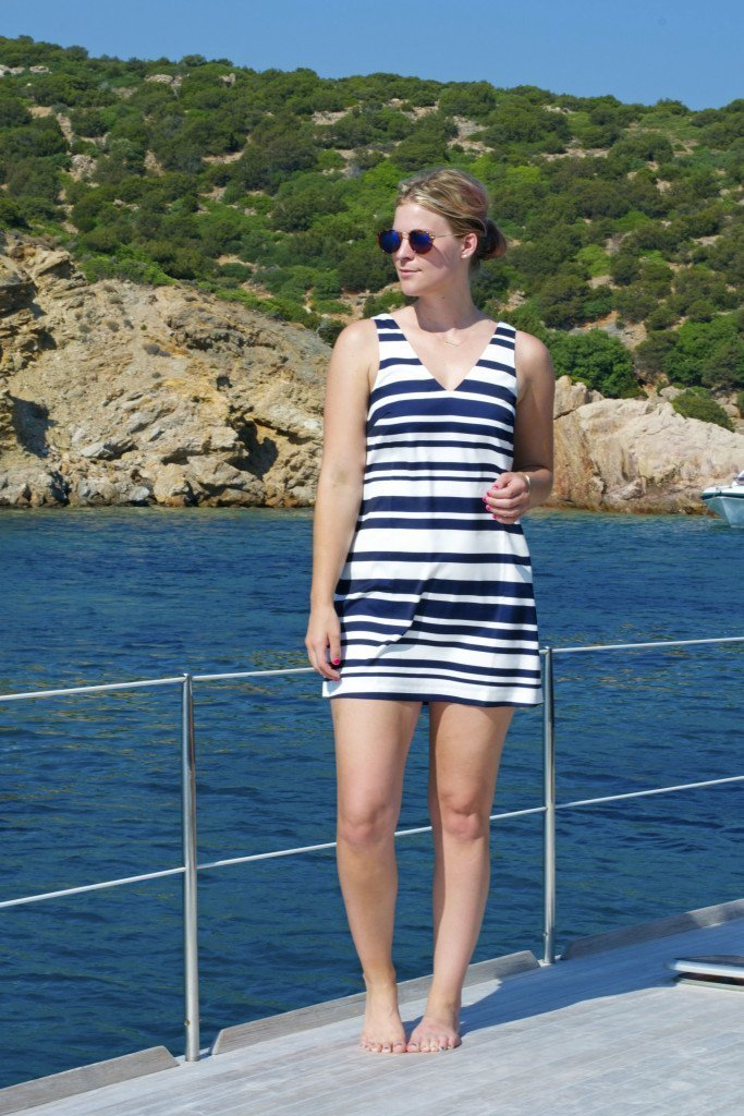 nauticaldress_ootd
