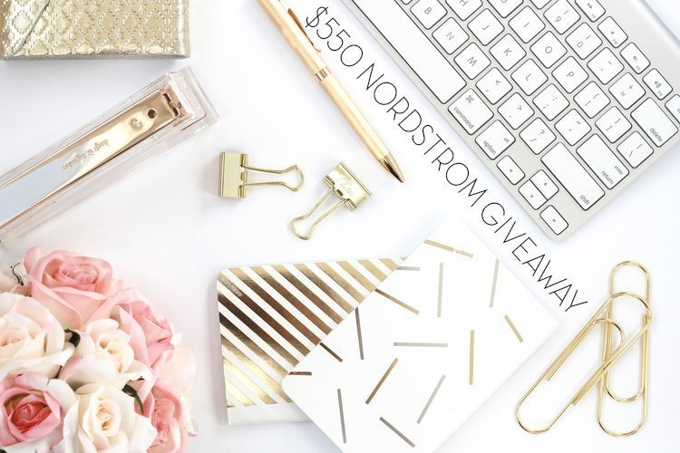 $550 Nordstrom Gift Card Giveaway
