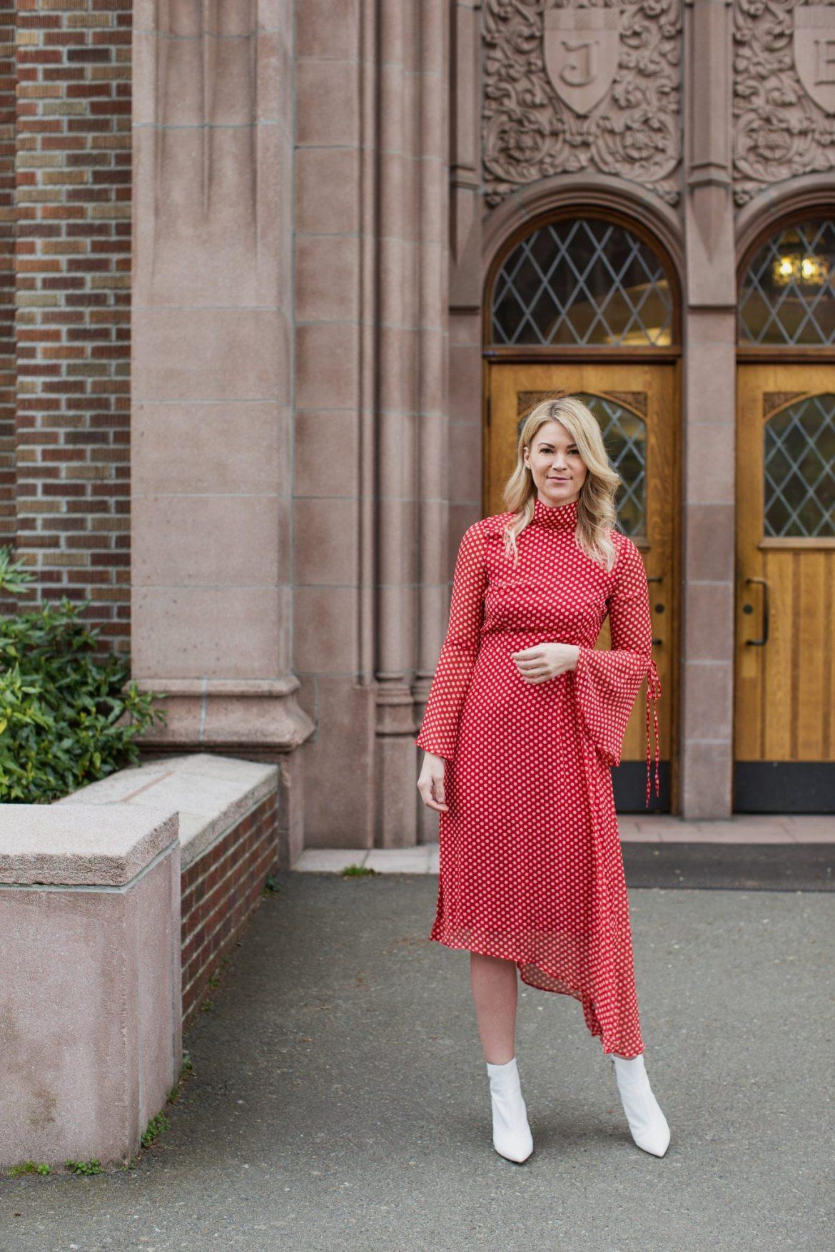 Asymmetrical Hemline ASOS dress