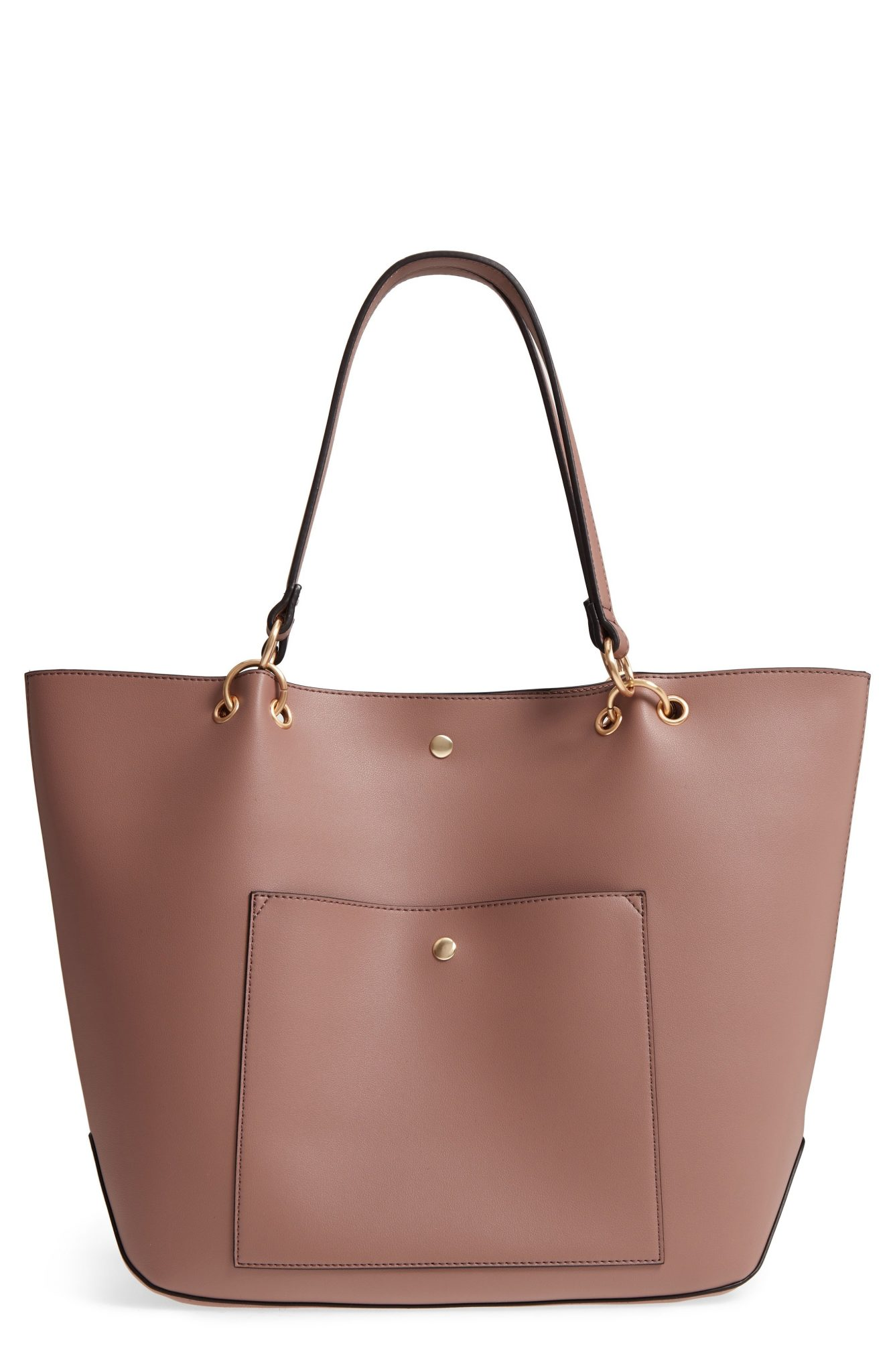 Fronto Faux Leather Tote