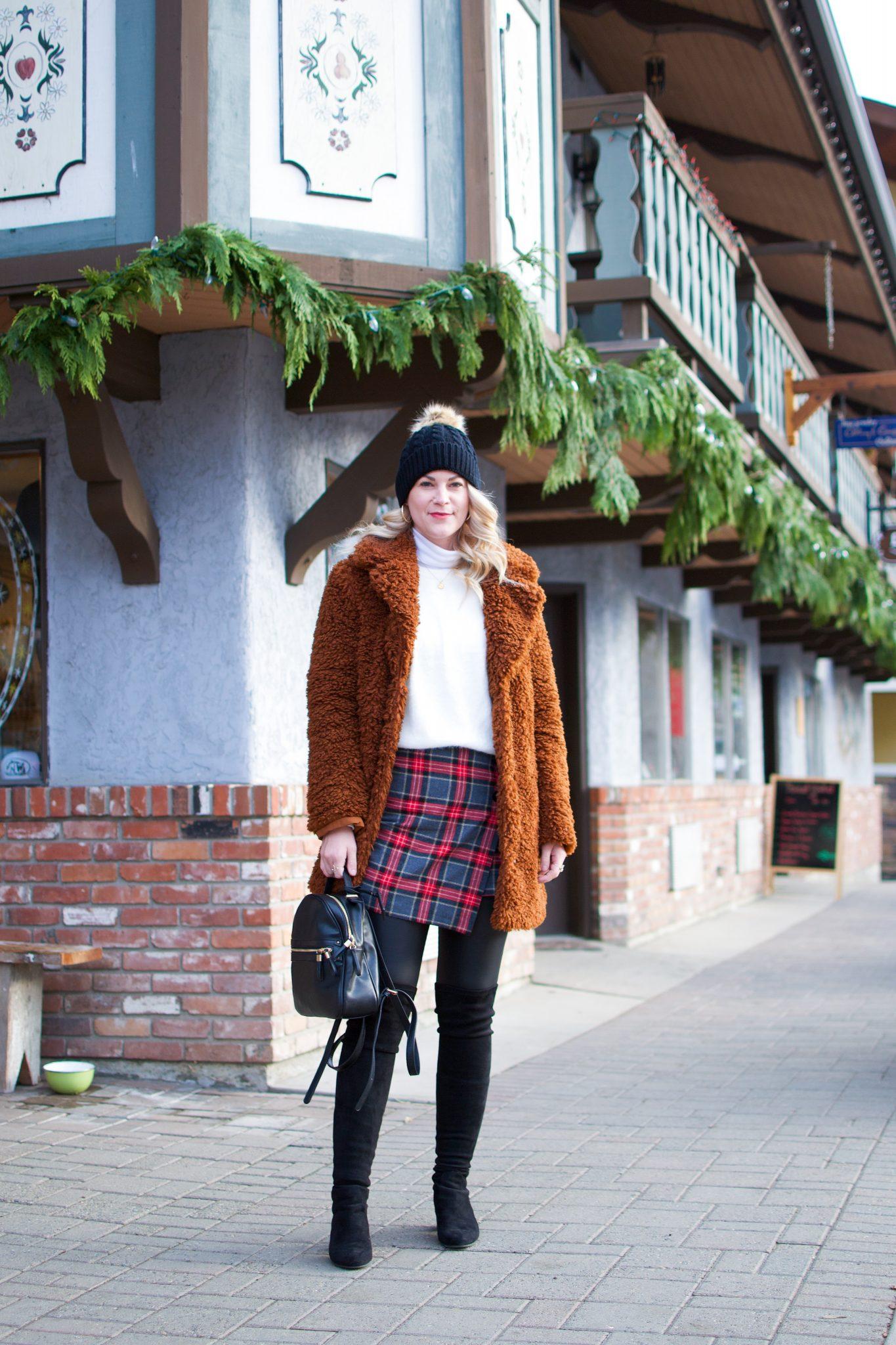 The Coziest Teddy Coat