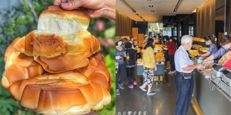 【台南最狂麵包店】羅頌麵包每日限量!出爐後秒殺等級!還需要警衛維持秩序 葡吉麵包店|台南美食