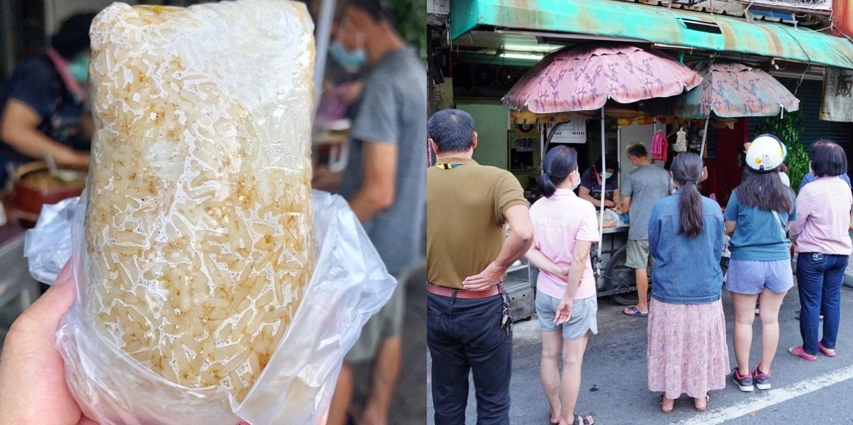 【台南美食】陳家飯丸 安南區最好吃飯糰就是這間!每天都在排隊 淋肉燥香氣十足/在地隱藏版美食