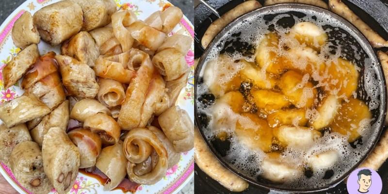 【台南美食】在地人強力推薦的老字號美食!這盤大腸+豬皮只要60元便宜好吃 來東山非吃不可 - 張記東山肉圓