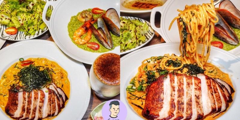 【台北大安區】台北好吃的義大利麵「水礦 Restaurant & Cafe」歐式質感義式咖啡廳約會聚餐餐廳推薦 鄰近捷運站超方便