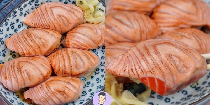 【台南美食】台南老字號路邊攤日料!炙燒鮭魚握壽司好大貫 網路評價兩極化的台南壽司店 - 橋壽司|中西區美食