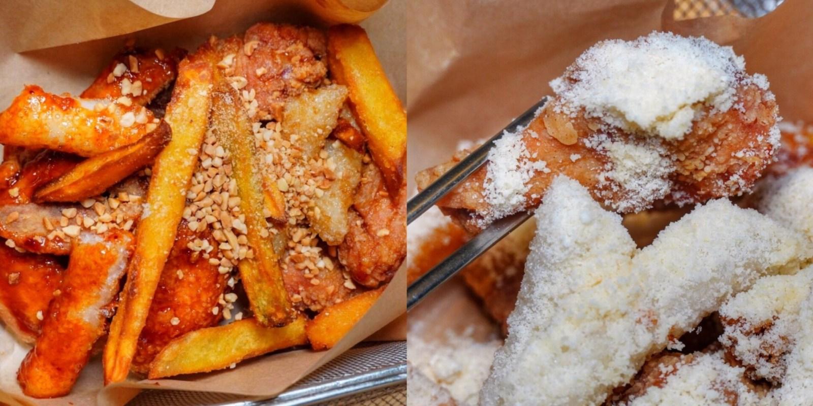全台第一間【扁筷韓式料理】在台南!免出國就能品嚐道地韓料,大推雪花炸雞+手切牛排|整條泡菜/小菜可免費續