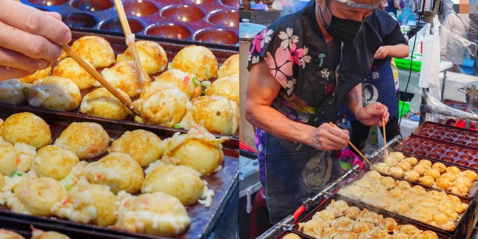 免出國在台南夜市【串博ふうりん章魚燒】就能吃到正宗日本大阪「爆漿章魚燒」日本職人精神 大東夜市