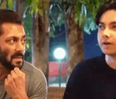 salman khan with nephew nirvan