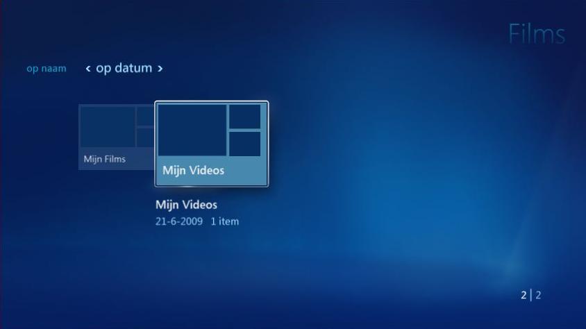 Vista Media Center - Videos