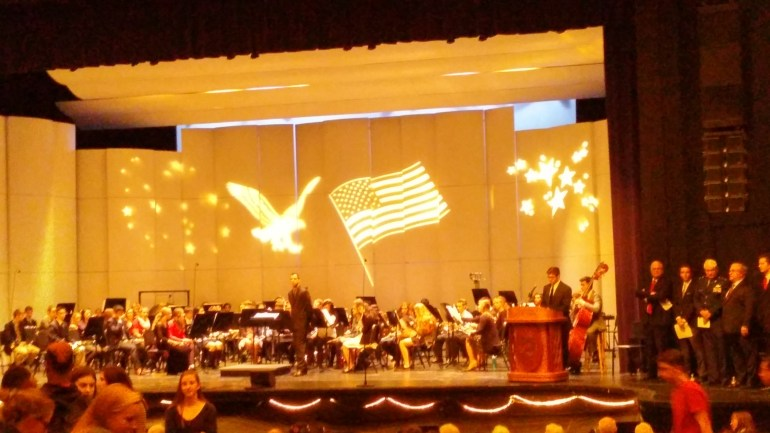 Veteran's Day Convocation