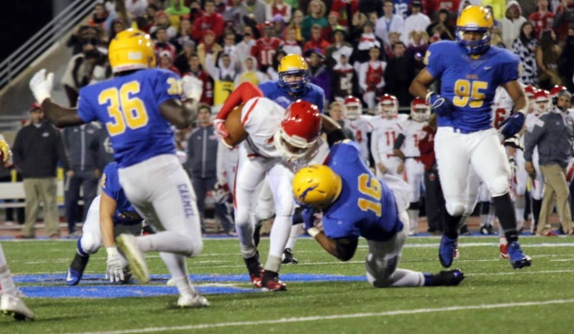 Carmel Varsity Football: Week 11 vs. Fishers