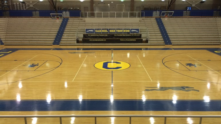 Carmel Varsity Basketball Simulcast: January 8th, 2016