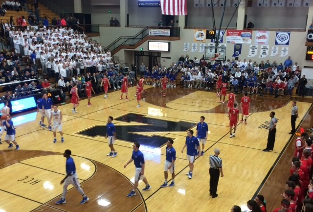 Carmel Boys Varsity Basketball vs. Fishers (Sectionals)