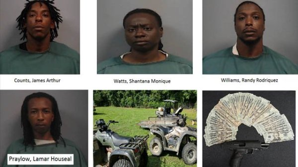 Newberry Co. deputies arrest 4 after stolen ATVs ...