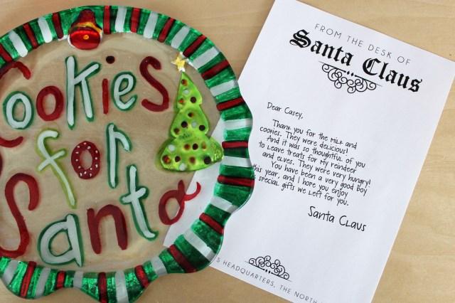 Santa Letterhead 04