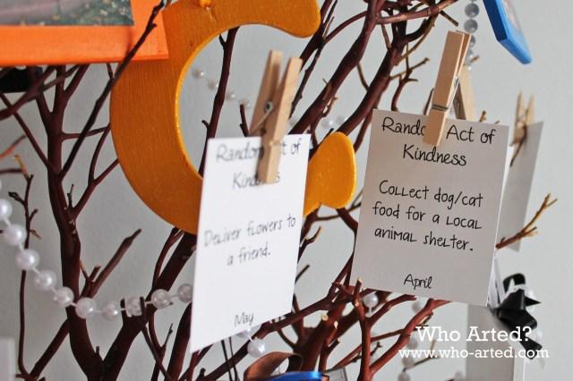 Random Acts of Kindness Tree 08
