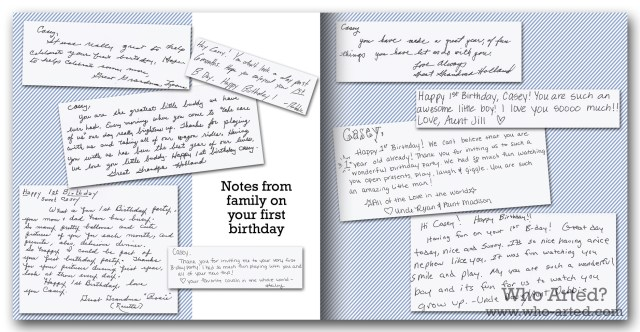 Baby Book Ideas Scan Letters