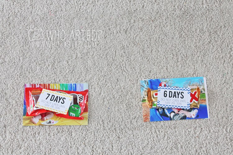 Birthday Garland Countdown Who Arted 06