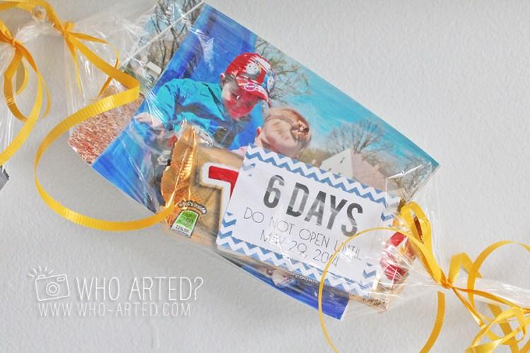Birthday Garland Countdown Who Arted 14