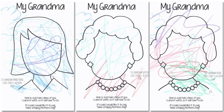 Mother's Day Coloring Page Who Arted 03