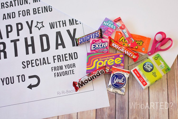 Candy Gram Birthday Card 1 01