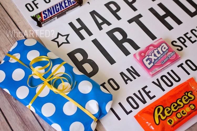 Candy Gram Birthday Card 1 02