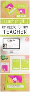 Teacher Appreciation Week Apple Gift Card