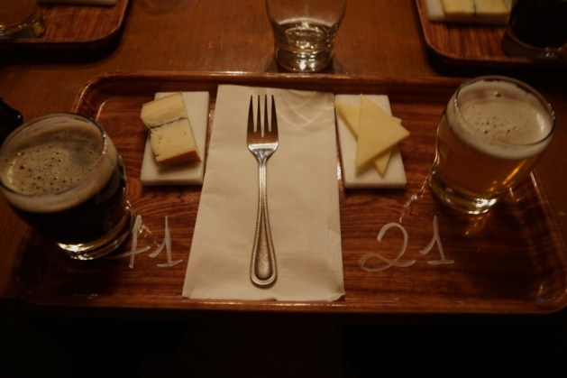 Harricana Beer & Cheese Pairing