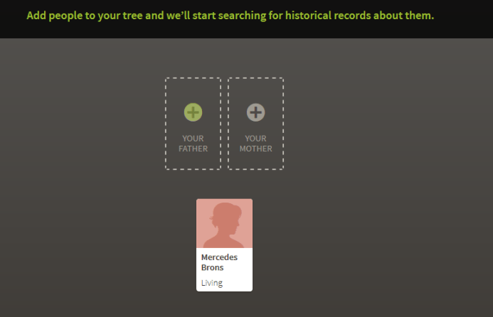 How to Start a New Family Tree on Ancestry