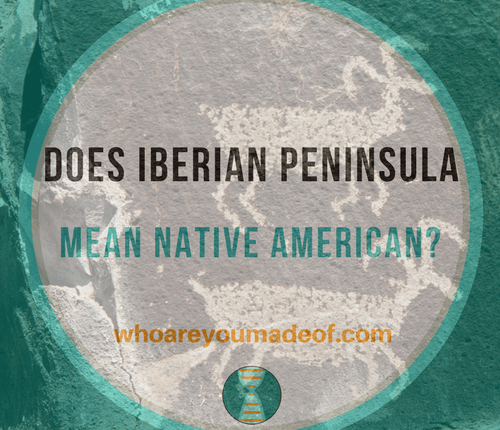 People Peninsula American Iberian Dna Native