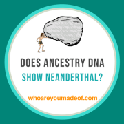 Does the Ancestry DNA Test Show Neanderthal?