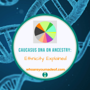 Caucasus DNA on Ancestry:  Ethnicity Explained