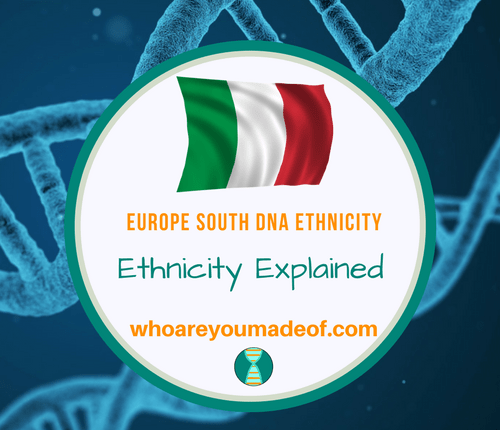Europe South DNA Ethnicity on Ancestry