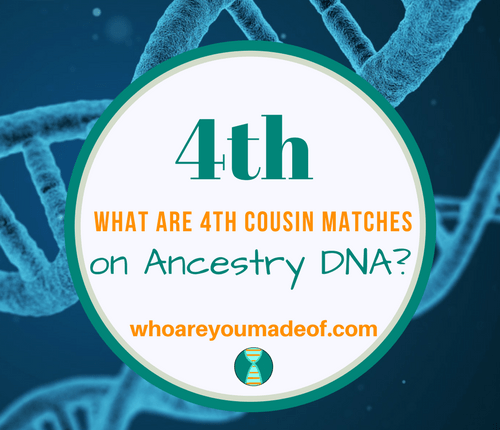 What are 4th Cousin Matches on Ancestry DNA_