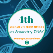 What are 4th Cousin Matches on Ancestry DNA?