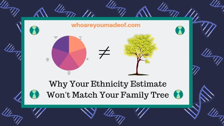 Why Your Ethnicity Estimate Won't Match Your Family Tree(1)