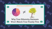 Why Your Ethnicity Estimate Won't Match Your Family Tree