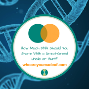How Much DNA Should You Share With a Great-Grand Uncle or Aunt?