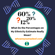 What Do the Percentages on My Ethnicity Estimate Really Mean?