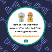How to Find Out Which Ancestry You Inherited From a Great-grandparent