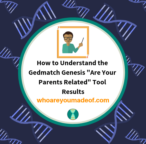 How to Understand the Gedmatch Genesis _Are Your Parents Related_ Tool Results(1)