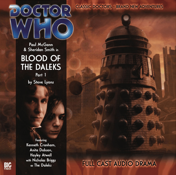A001 Blood of the Daleks Cover